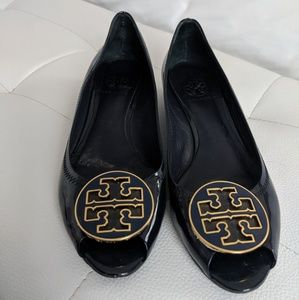 Tory Burch peep toe sandals
